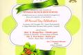 "12th Annual Day Celebrations ,""Invitation Card""."